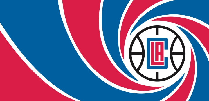 007 Los Angeles Clippers logo decal sticker