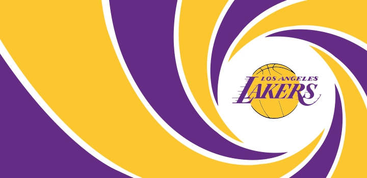007 Los Angeles Lakers logo decal sticker