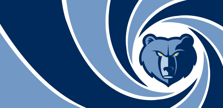 007 Memphis Grizzlies logo decal sticker