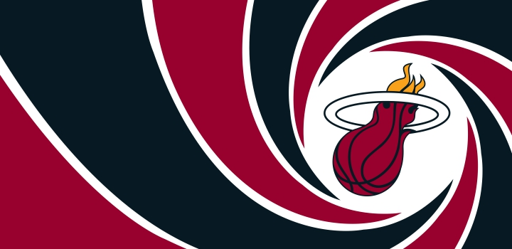 007 Miami Heat logo decal sticker