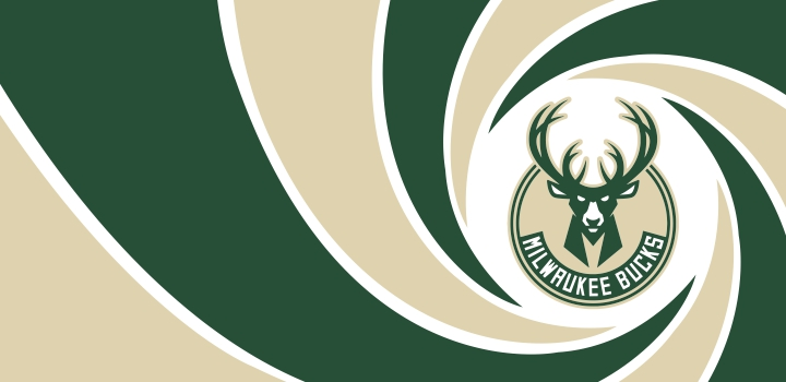 007 Milwaukee Bucks logo decal sticker