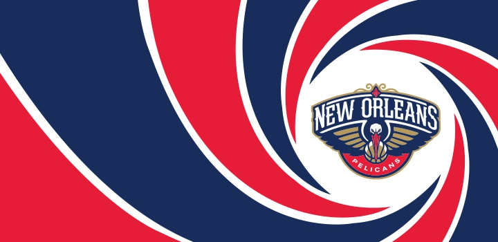 007 New Orleans Pelicans logo decal sticker