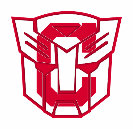 Autobots Cleveland Indians logo decal sticker