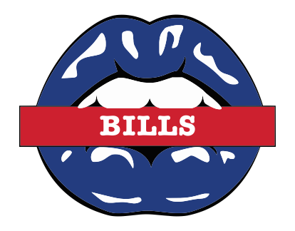 Buffalo Bills Lips Logo decal sticker