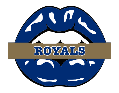 Kansas City Royals Lips Logo decal sticker
