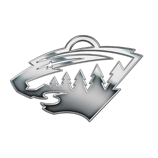 Minnesota Wild Silver Logo decal sticker
