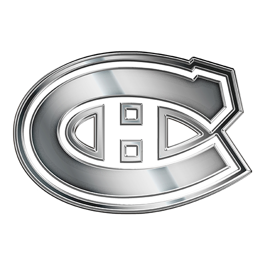 Montreal Canadiens Silver Logo decal sticker