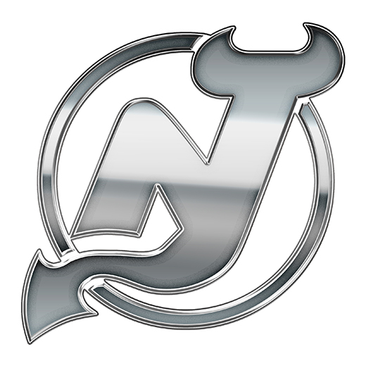New Jersey Devils Silver Logo decal sticker