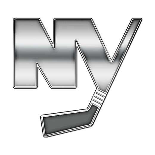 New York Islanders Silver Logo decal sticker