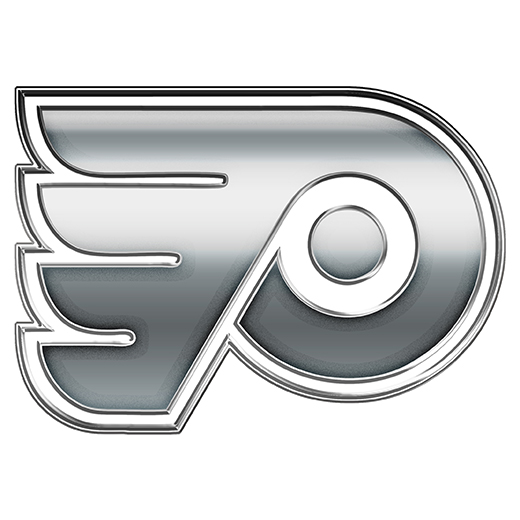 Philadelphia Flyers Silver Logo decal sticker