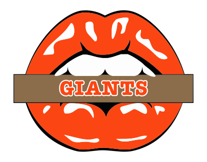 San Francisco Giants Lips Logo decal sticker
