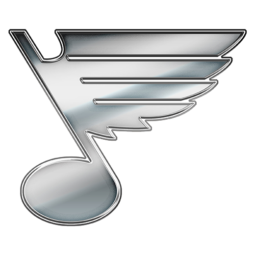 St. Louis Blues Silver Logo decal sticker
