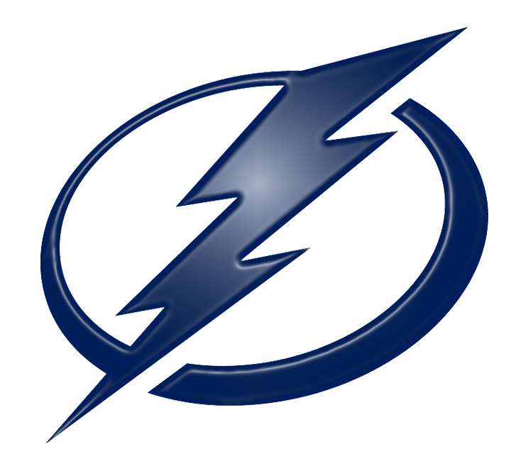 Tampa Bay Lightning Plastic Effect Logo decal sticker