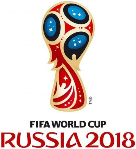 2018 World Cup Russia Primary Logo iron on sticker
