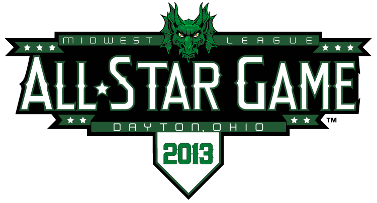 All-Star Game 2013 Primary Logo 5 iron on sticker