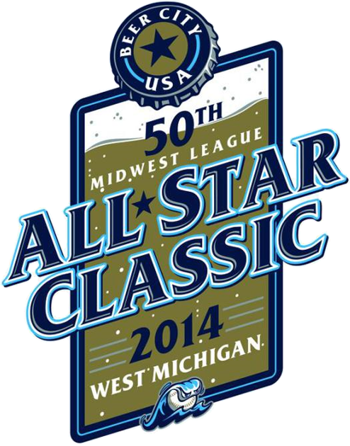 All-Star Game 2014 Primary Logo 3 iron on sticker