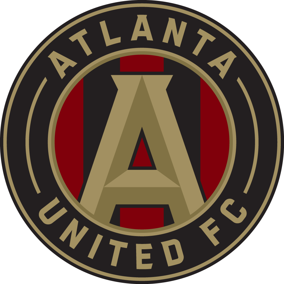 Atlanta United FC Logo iron on sticker