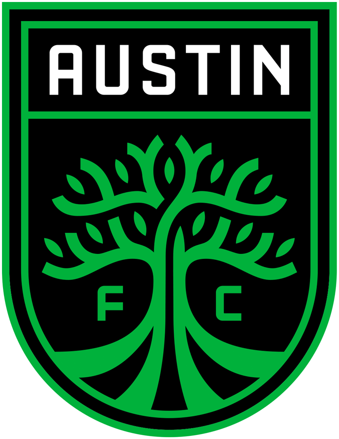 Austin FC Logo iron on sticker
