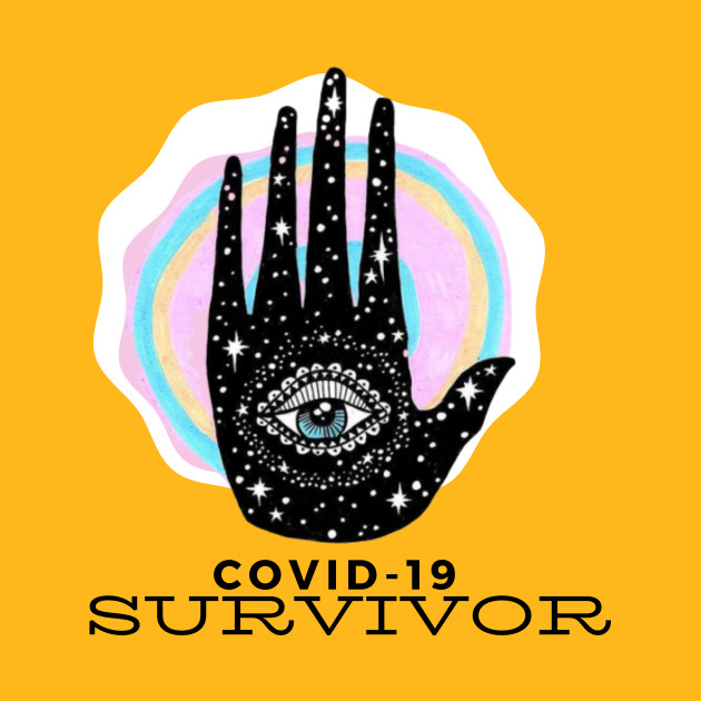 Covid19-15 Logo decal sticker