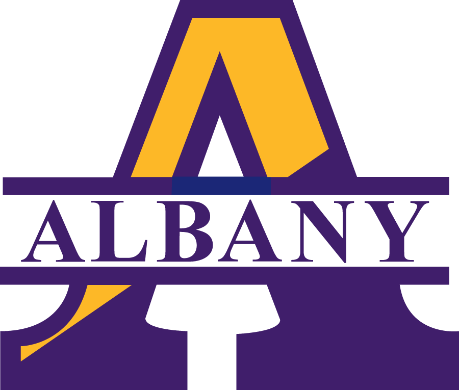 Albany Great Danes 1993-2003 Primary Logo iron on sticker