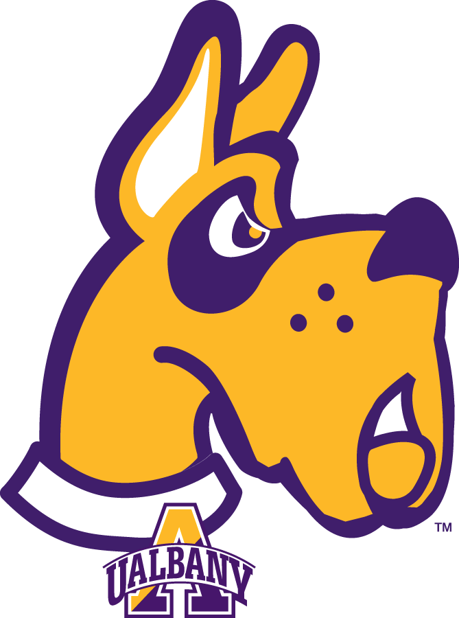 Albany Great Danes 2008-Pres Alternate Logo iron on sticker