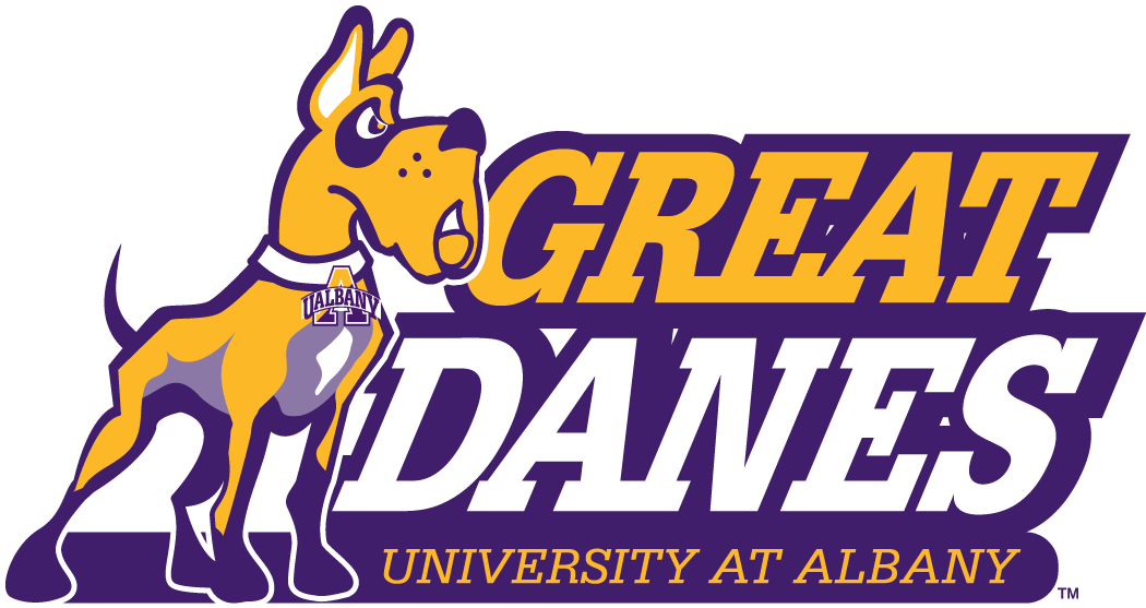 Albany Great Danes 2008-Pres Secondary Logo iron on sticker