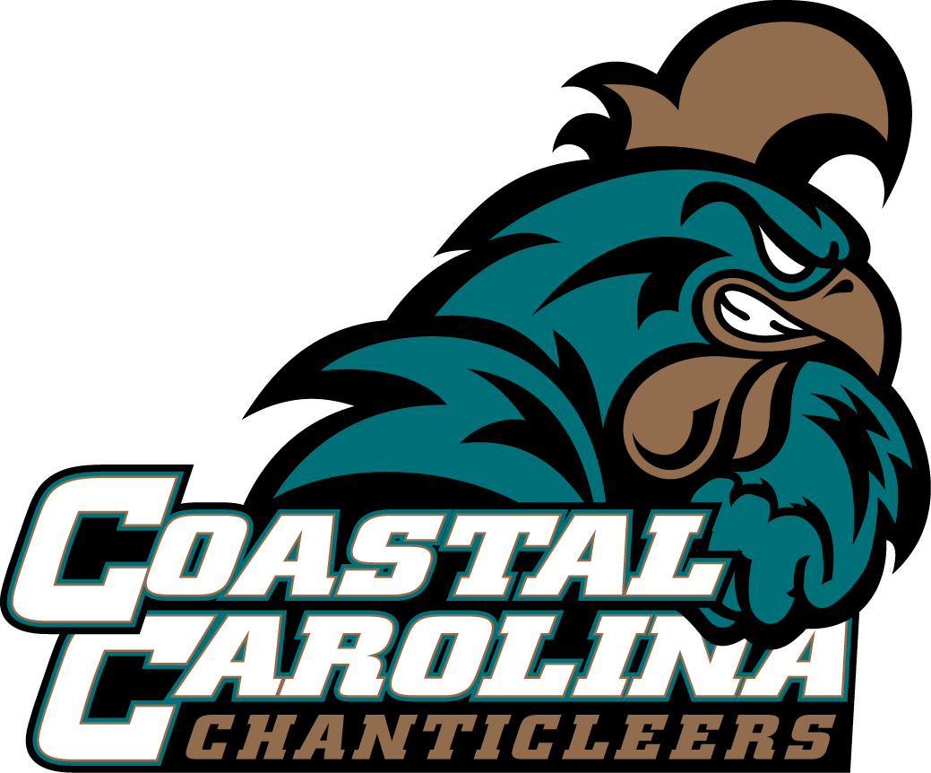 Coastal Carolina Chanticleers 2016-Pres Secondary Logo iron on sticker