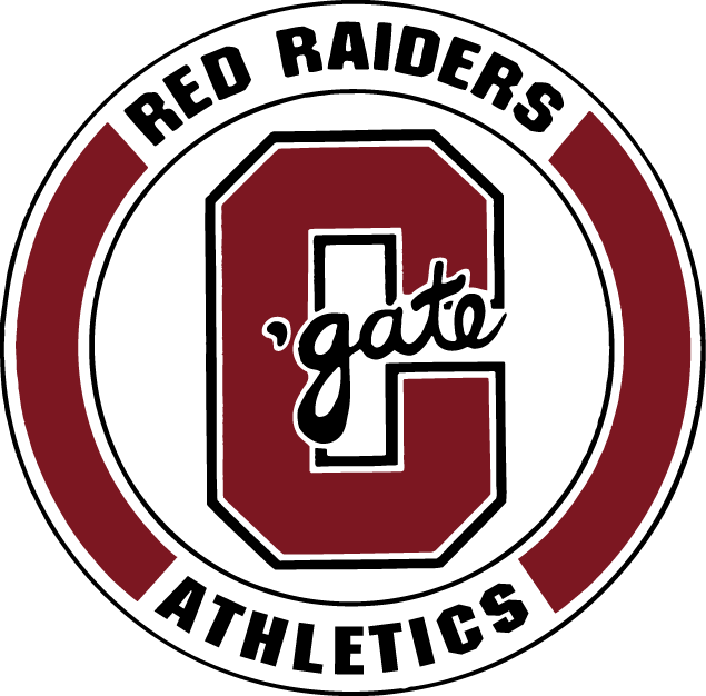 Colgate Raiders 1977-2001 Primary Logo iron on sticker