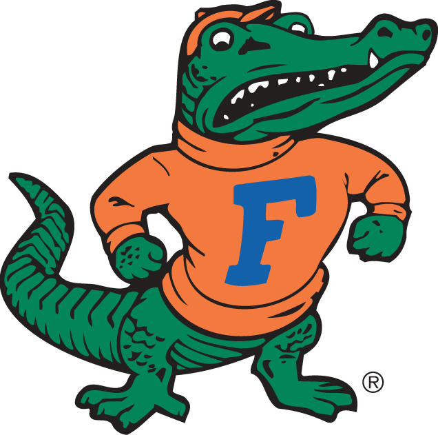 Florida Gators 1955-1994 Alternate Logo iron on sticker