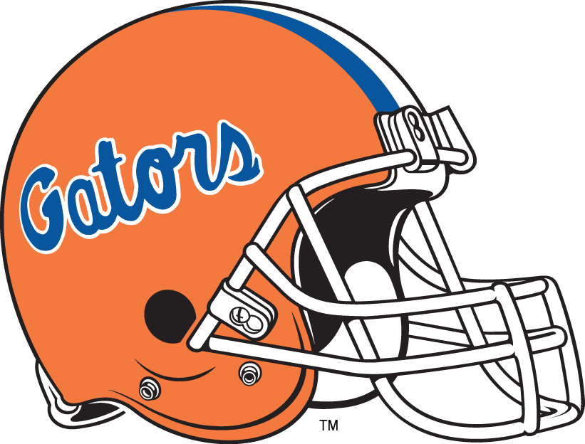 Florida Gators 1984-Pres Helmet Logo iron on sticker