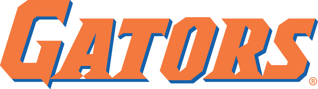 Florida Gators 1998-2012 Wordmark Logo 01 iron on sticker