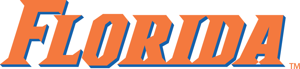 Florida Gators 1998-2012 Wordmark Logo iron on sticker