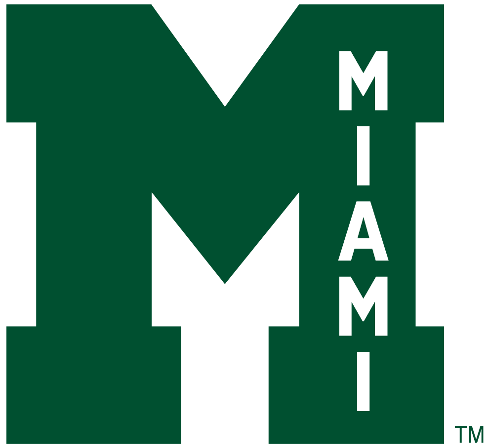 Miami Hurricanes 1946-1964 Alternate Logo iron on sticker