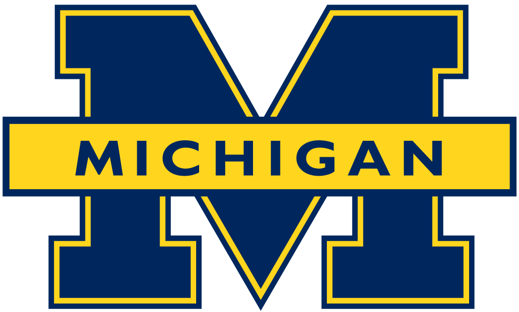 Michigan Wolverines 1996-2011 Primary Logo iron on sticker