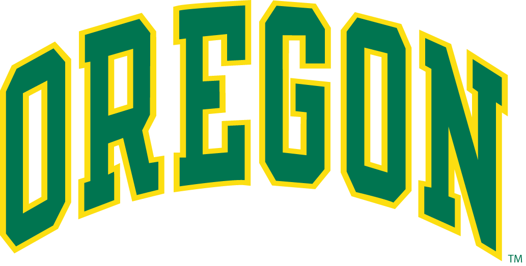 Oregon Ducks 1991-1998 Wordmark Logo iron on sticker