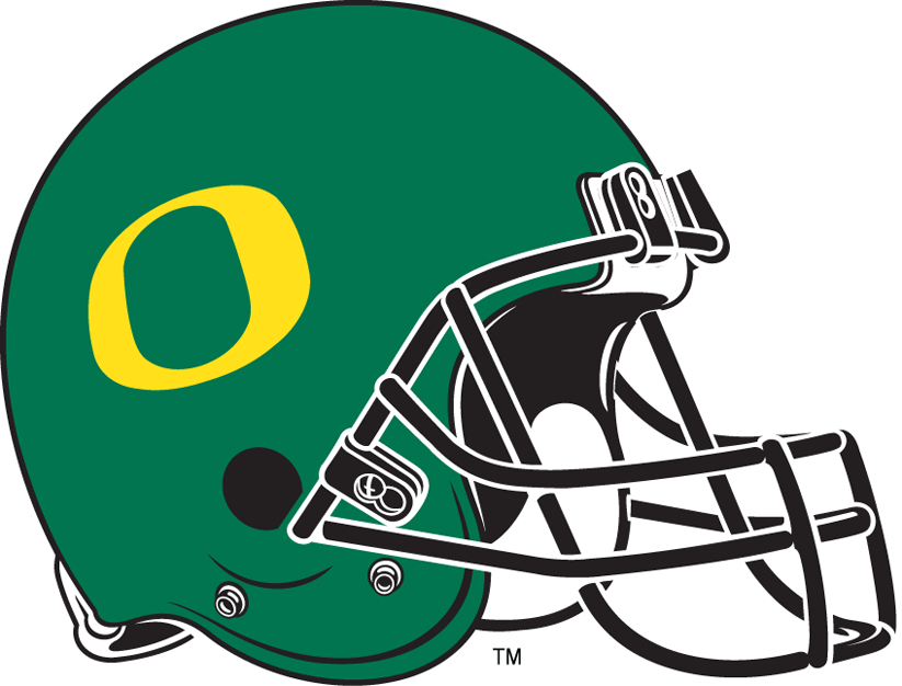 Oregon Ducks 1999-Pres Helmet iron on sticker