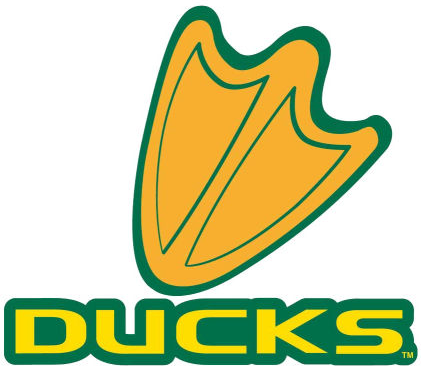 Oregon Ducks 2007-Pres Alternate Logo iron on sticker
