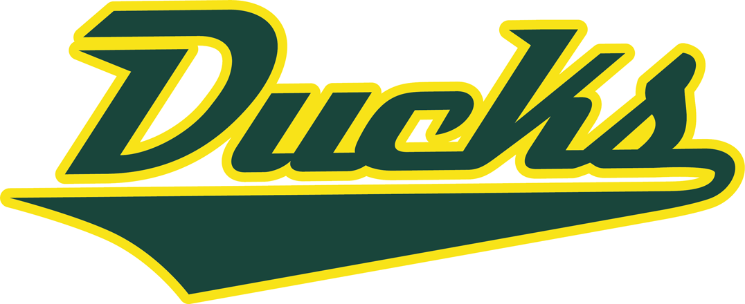 Oregon Ducks 2013-Pres Wordmark Logo iron on sticker